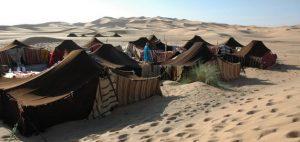 The desert, where Muslims belong